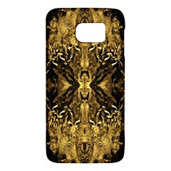 Beautiful Gold Brown Traditional Pattern Galaxy S6