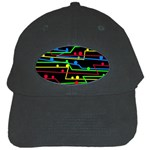 Stay in line Black Cap Front