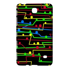 Stay In Line Samsung Galaxy Tab 4 (8 ) Hardshell Case  by Valentinaart