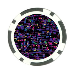 Purple Galaxy Poker Chip Card Guards (10 Pack)  by Valentinaart