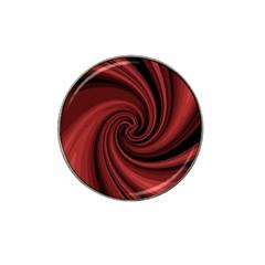 Elegant Red Twist Hat Clip Ball Marker (10 Pack) by Valentinaart