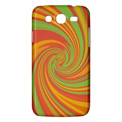 Green And Orange Twist Samsung Galaxy Mega 5 8 I9152 Hardshell Case  by Valentinaart