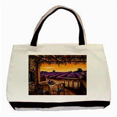 Lavender Basic Tote Bag (two Sides) by ArtByThree