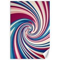 Lollipop Canvas 12  X 18   by Valentinaart