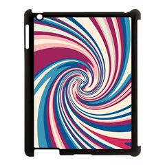 Lollipop Apple Ipad 3/4 Case (black) by Valentinaart