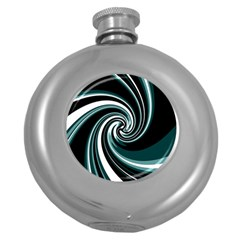 Elegant Twist Round Hip Flask (5 Oz) by Valentinaart