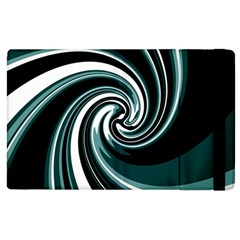 Elegant Twist Apple Ipad 3/4 Flip Case by Valentinaart