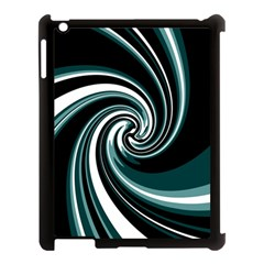 Elegant Twist Apple Ipad 3/4 Case (black) by Valentinaart