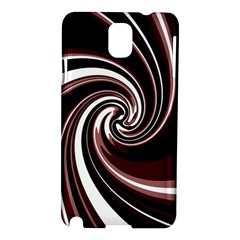 Decorative Twist Samsung Galaxy Note 3 N9005 Hardshell Case by Valentinaart