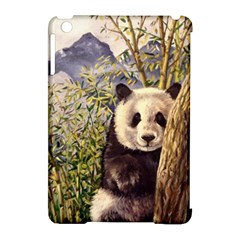 Panda Apple Ipad Mini Hardshell Case (compatible With Smart Cover) by ArtByThree