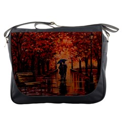 Unspoken Love  Messenger Bags by ArtByThree
