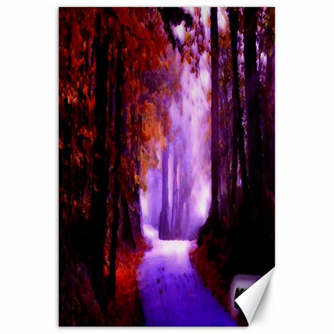 Autumnroads 20x30 By David   Canvas 20  X 30    7scr7y294o4q   Www Artscow Com 30 x20 Canvas - 1