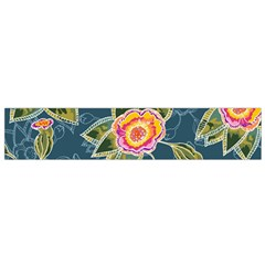Floral Fantsy Pattern Flano Scarf (small) by DanaeStudio