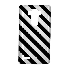 Black And White Geometric Line Pattern LG G4 Hardshell Case by artpics