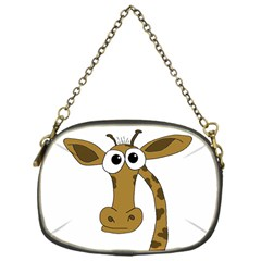 Giraffe  Chain Purses (one Side)  by Valentinaart