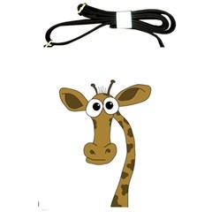 Giraffe  Shoulder Sling Bags by Valentinaart
