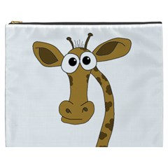Giraffe  Cosmetic Bag (xxxl)  by Valentinaart
