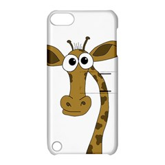 Giraffe  Apple Ipod Touch 5 Hardshell Case With Stand by Valentinaart