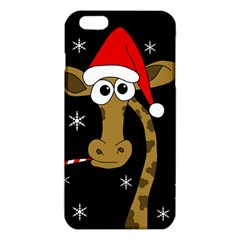 Christmas Giraffe Iphone 6 Plus/6s Plus Tpu Case by Valentinaart