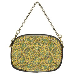 Modern Abstract Ornate Pattern Chain Purses (one Side)  by dflcprints