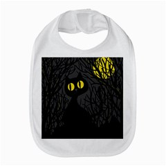 Black Cat   Halloween Bib by Valentinaart
