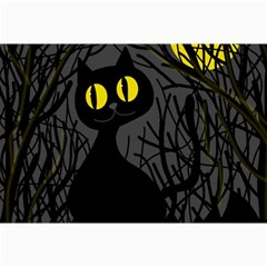 Black Cat   Halloween Collage Prints by Valentinaart