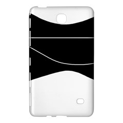 Black And White Samsung Galaxy Tab 4 (8 ) Hardshell Case  by Valentinaart