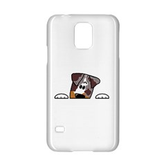 CLD peeking red merle Samsung Galaxy S5 Hardshell Case  by TailWags