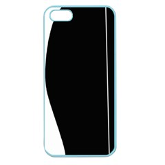 White And Black 2 Apple Seamless Iphone 5 Case (color) by Valentinaart