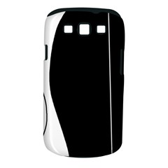 White And Black 2 Samsung Galaxy S Iii Classic Hardshell Case (pc+silicone)