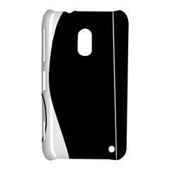 White And Black 2 Nokia Lumia 620 by Valentinaart