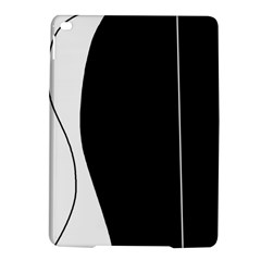 White And Black 2 Ipad Air 2 Hardshell Cases by Valentinaart