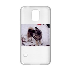 Norwegian Elkhound Full second Samsung Galaxy S5 Hardshell Case  by TailWags