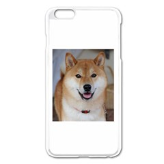 Shiba Inu Apple iPhone 6 Plus/6S Plus Enamel White Case by TailWags