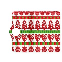 Christmas Icon Set Bands Star Fir Kindle Fire HDX 8.9  Flip 360 Case by Zeze
