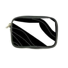 White And Black Decorative Design Coin Purse by Valentinaart