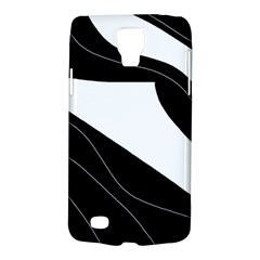 White And Black Decorative Design Galaxy S4 Active by Valentinaart