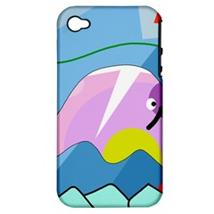 Under The Sea Apple Iphone 4/4s Hardshell Case (pc+silicone) by Valentinaart