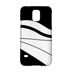 White and black harmony Samsung Galaxy S5 Hardshell Case  by Valentinaart