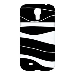Black Light Samsung Galaxy S4 I9500/i9505 Hardshell Case by Valentinaart
