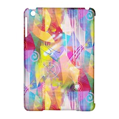 Painted Chaos Apple iPad Mini Hardshell Case (Compatible with Smart Cover) by KirstenStar