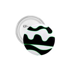 Green, White And Black 1 75  Buttons by Valentinaart