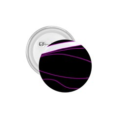 Purple, White And Black Lines 1 75  Buttons by Valentinaart