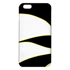 Yellow, Black And White Iphone 6 Plus/6s Plus Tpu Case by Valentinaart