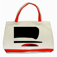 Fantasy Classic Tote Bag (red) by Valentinaart