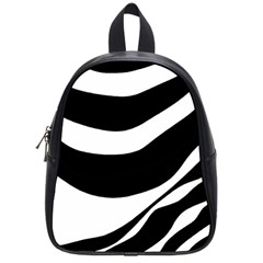 White Or Black School Bags (small)  by Valentinaart