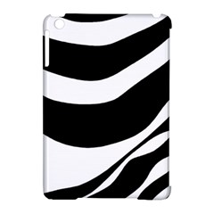 White Or Black Apple Ipad Mini Hardshell Case (compatible With Smart Cover) by Valentinaart