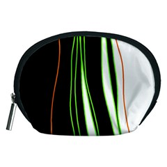 Colorful Lines Harmony Accessory Pouches (medium)  by Valentinaart