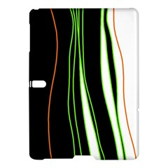 Colorful Lines Harmony Samsung Galaxy Tab S (10 5 ) Hardshell Case  by Valentinaart
