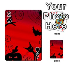 Halloween Landscape Playing Cards 54 Designs
